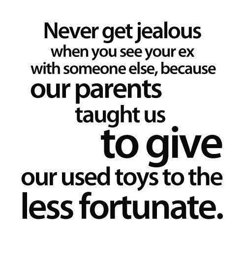 Never Get Jealous
