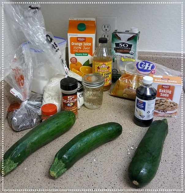 Vegan Zucchini Bread healthy eating by Lility Massage
