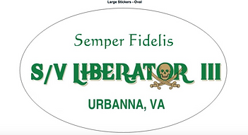 Semper Fi sticker for SVL3