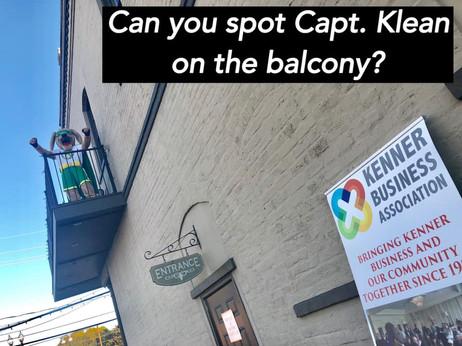 Can you spot Captain Klean?