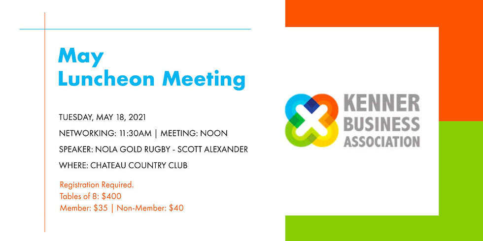 May Luncheon / Meeting
