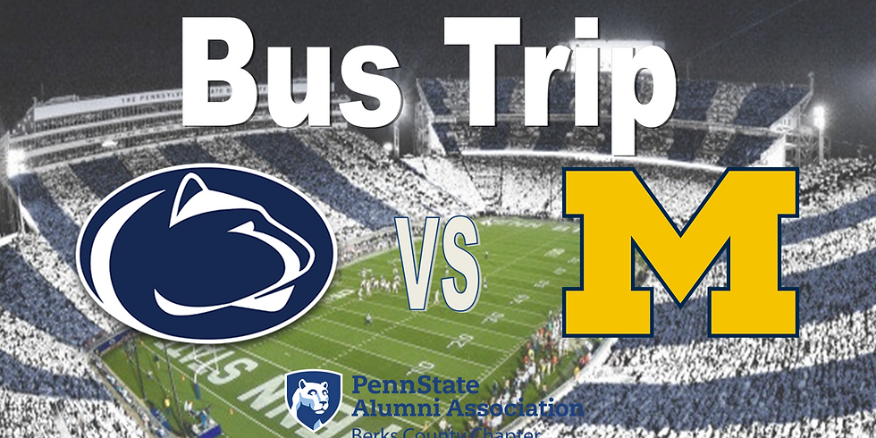 PSU vs Michigan Bus Trip