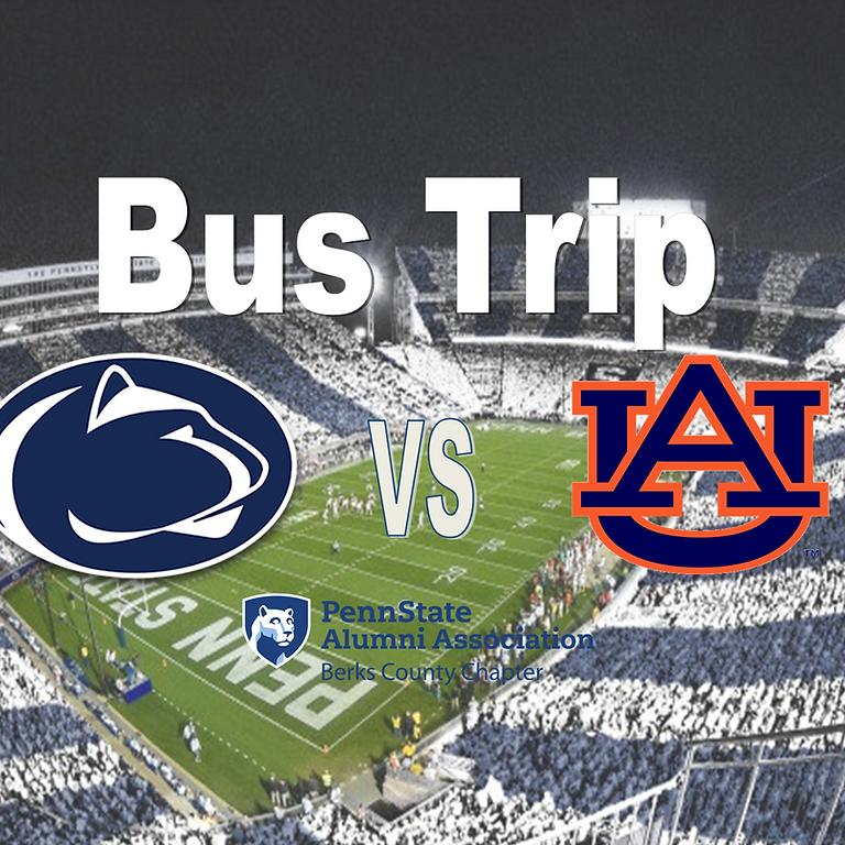 PSU vs Auburn Bus Trip
