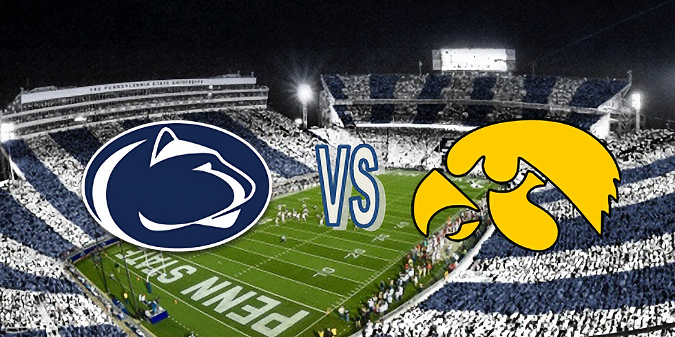 Penn State vs Iowa Tailgate Viewing Party: October 9, 2021