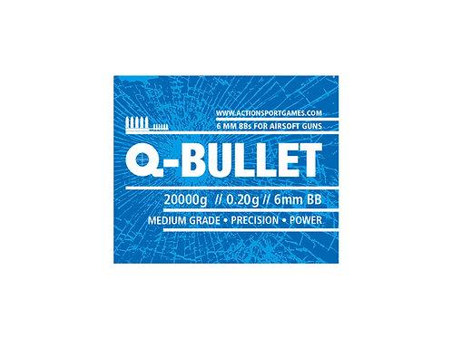 ASG Q-Bullet, 0,20g  3x bulk buy