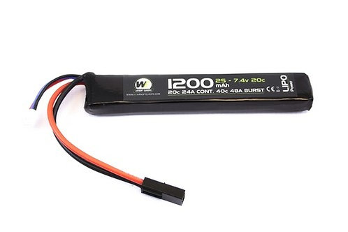 NP Power 1200mah 7.4v 20c Stick Type