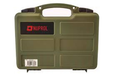 NUPROL SMALL HARD CASE (WAVE FOAM) - GREEN