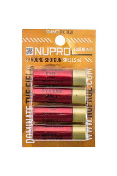 Nuprol Shells for Shotgun, 4 pc. 30 rd per shell