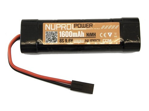 NP POWER 1600MAH 9.6V NIMH SMALL TYPE