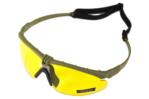 NUPROL BATTLE PRO'S - GREEN FRAME / YELLOW LENSE