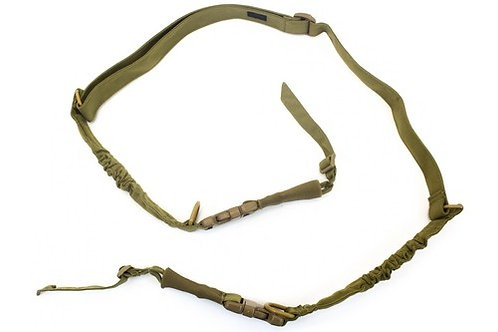 NUPROL TWO POINT BUNGEE SLING 1000D OD/GREEN