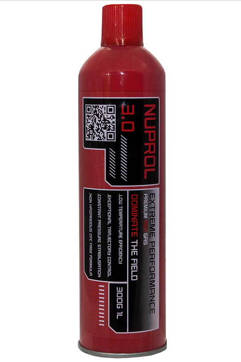 NUPROL 3.0 Extreme Power 300g 1L Gas - Red