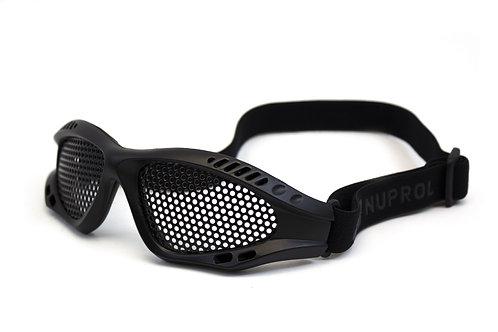 NUPOL Shades Mesh Eye Protection Black