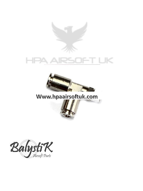 "BalystiK ""Y""Shape Elbow 1/8 Male 8mm macroline"
