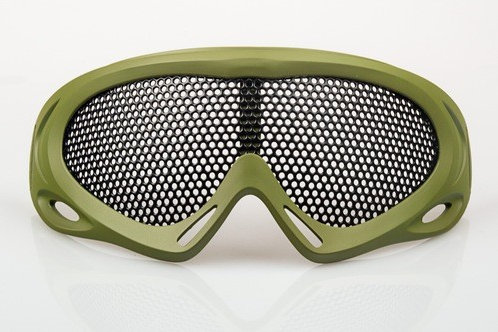 NUPROL PRO MESH EYE PROTECTION GREEN