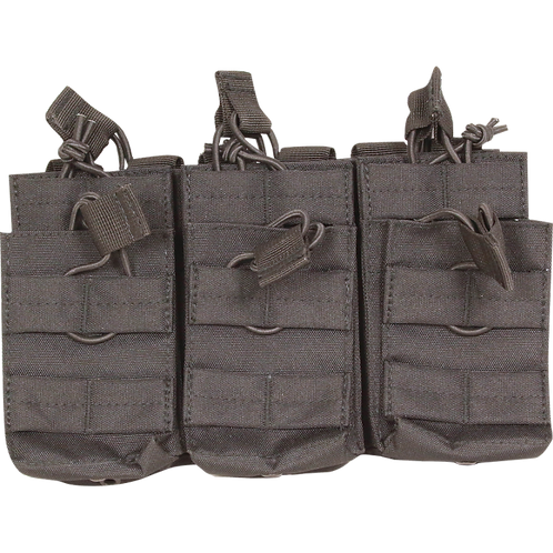 VIPER Duo Mag Pouch - Treble BLACK