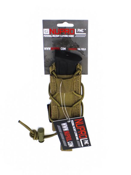 NUPROL PMC PISTOL OPEN TOP POUCH - TAN