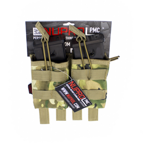 NP PMC N36 DOUBLE OPEN MAG POUCH - NP CAMO