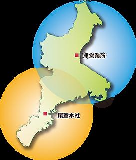 三重県全域マップ