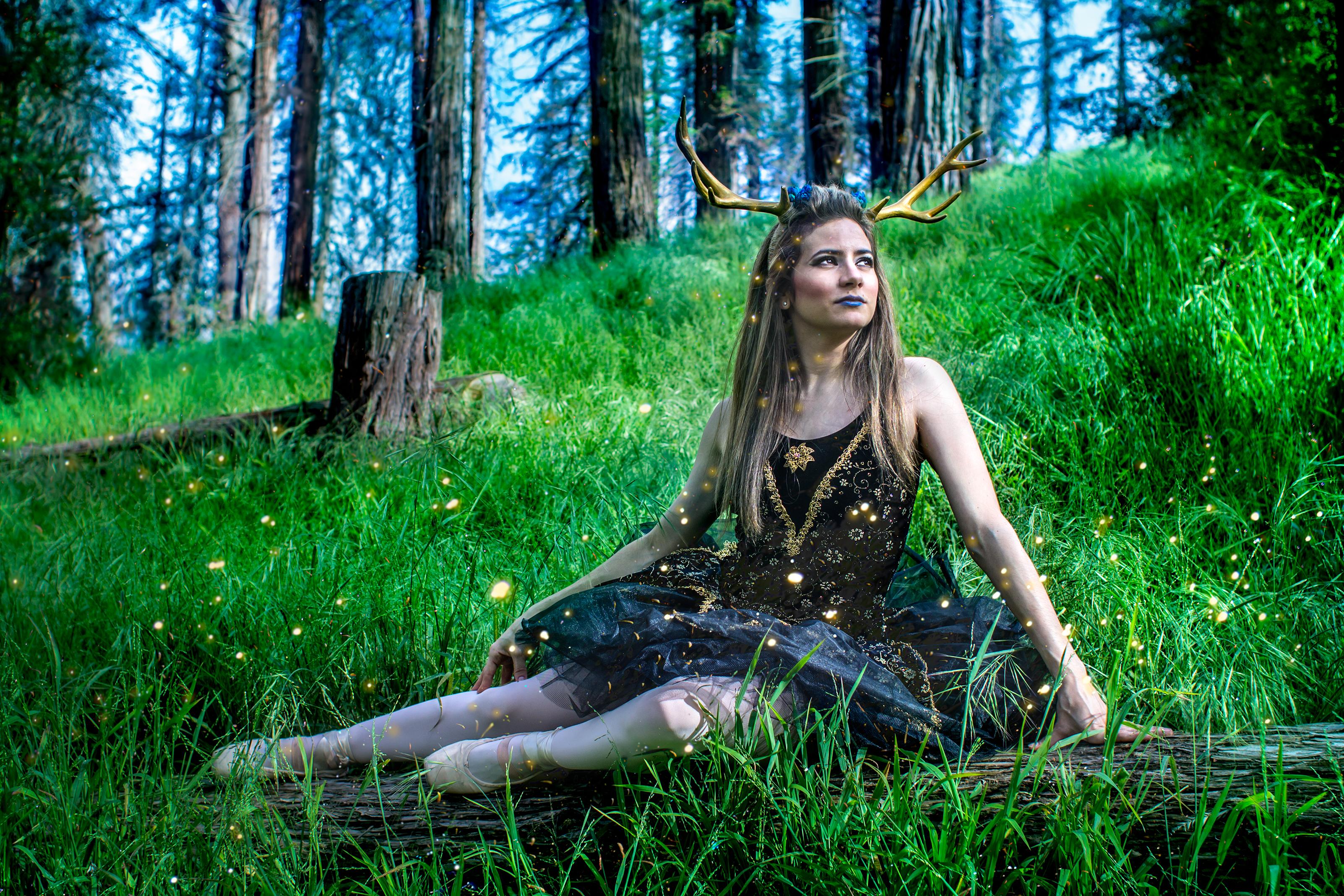 Deer Dance in The Garden of Eld