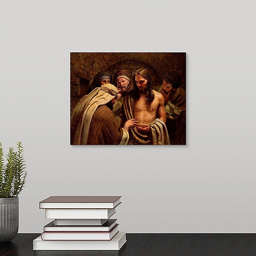 Frank Ordaz canvas print The Believer