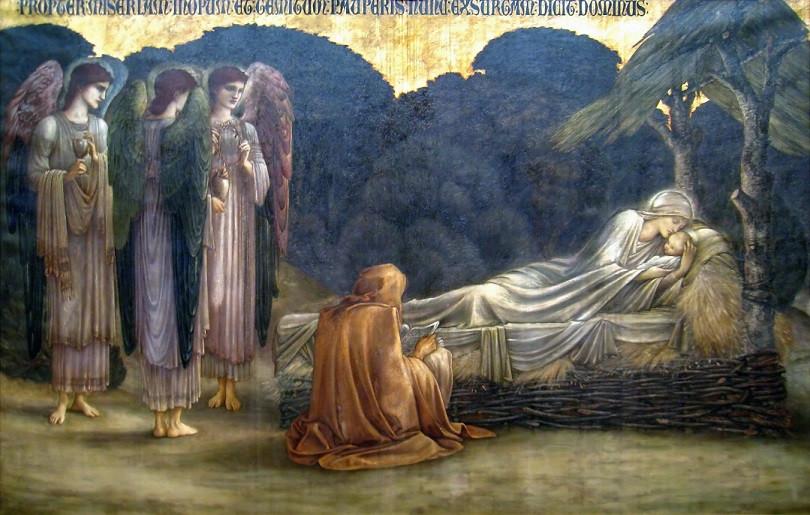 Edward Burne-Jones Nativity