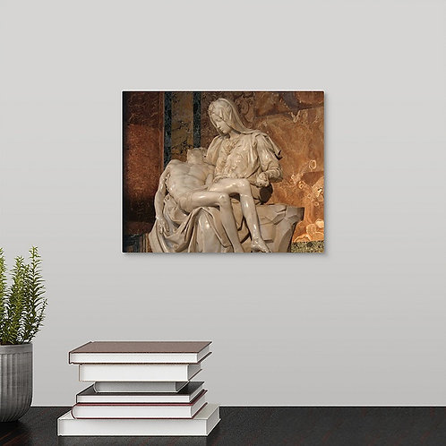 Michelangelo's Pieta canvas gallery wrap print