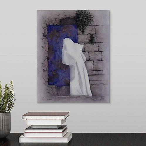 He is Risen canvas gallery wrap print by Ruth Heath