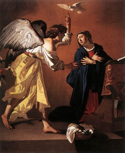 The Annunciation Canvas mini