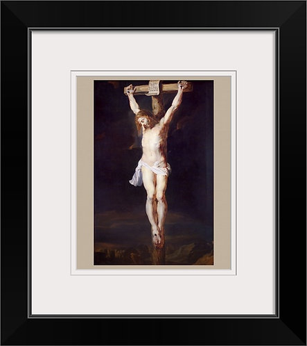 Peter Paul Rubens Historical framed print -Crucifixion