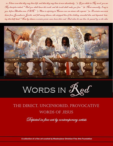 Words in Red Exhibit Gallery Guide Book