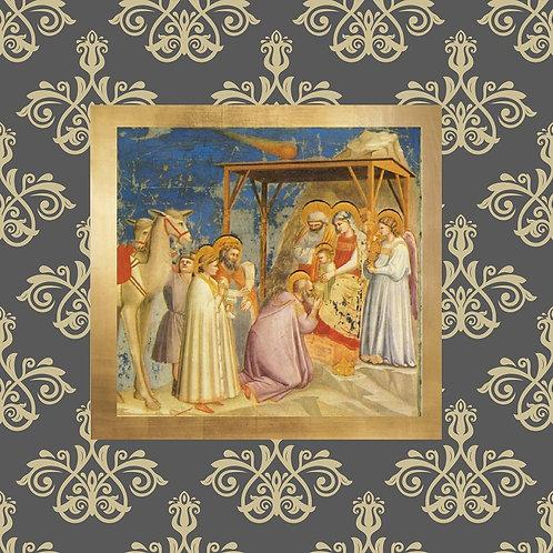 Adoration of the Magi canvas decorative mini by Giotto Bondon
