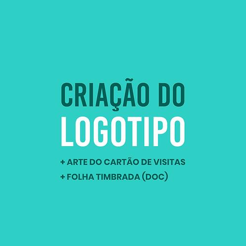 Pacote 4   Logo + Arte do Cartão + Folha Timbrada