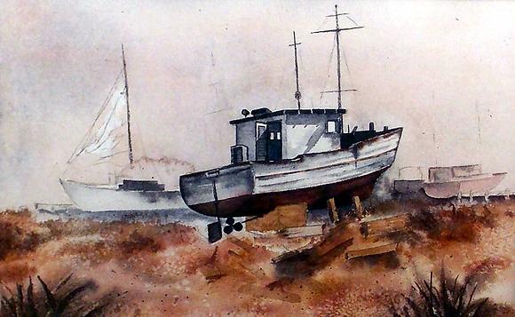 Dry Dock Boat
