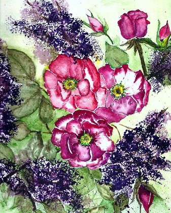 Roses in Purple