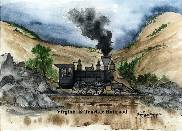 Virginia & Truckee Railroad #1, Virginia City, NV
