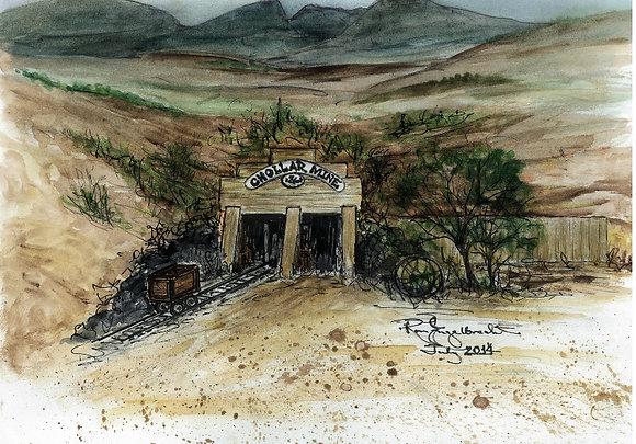 The Chollar Mine of Virginia City, NV