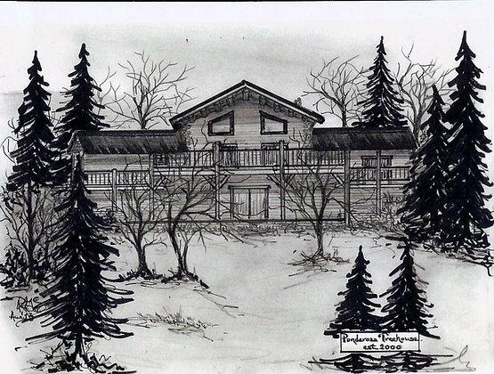 Ponderosa Tree House