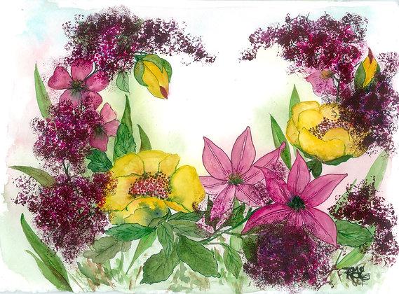 Pink Floral Delight