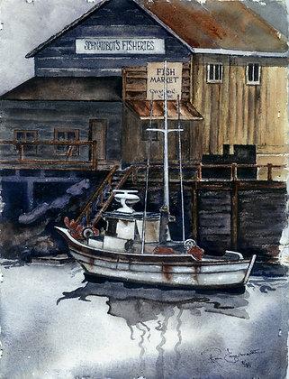 Monterey Fisheries Boat