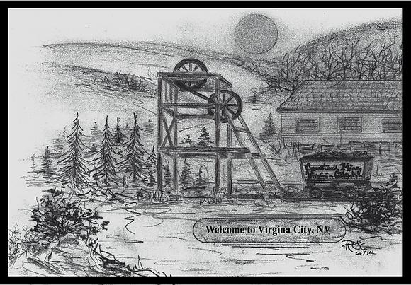 Welcome to Virginia City, Nevada