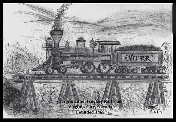 Virginia & Truckee Railroad, Virginia City, NV