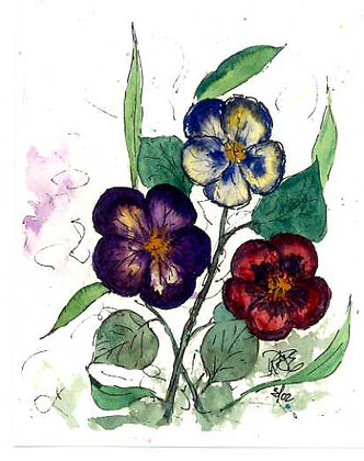 Love Those Pansies
