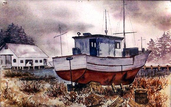 Land Ahoy Boat