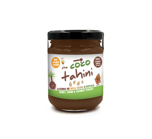 Honey, Tahini and Coconut Spread 220g Little Donkey