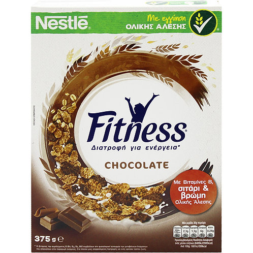 Fitness Chocolate Cereals 375g