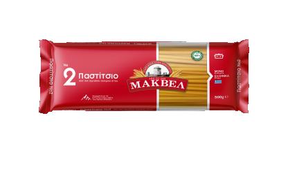 Greek Pasta No2 for Pastitsio 500g Makbel