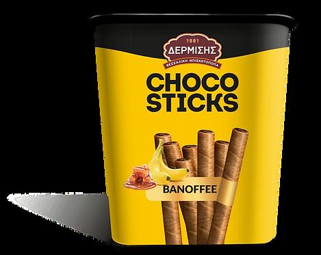 Choco Sticks with Banoffee Cream 310g Dermisis