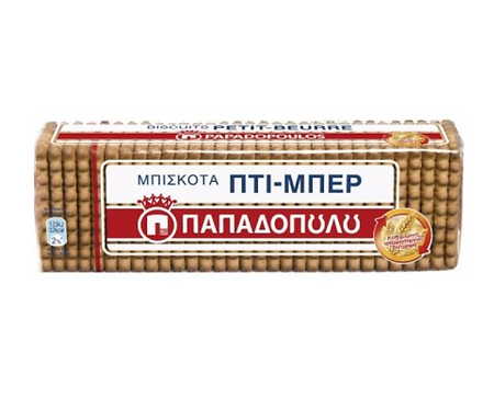 Papadopoulou Petit-Beurre Biscuits 225g