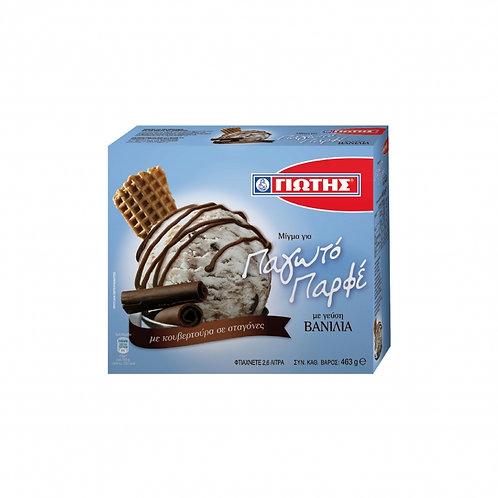 Jotis Vanilla Parfait Ice Cream Mix 463g